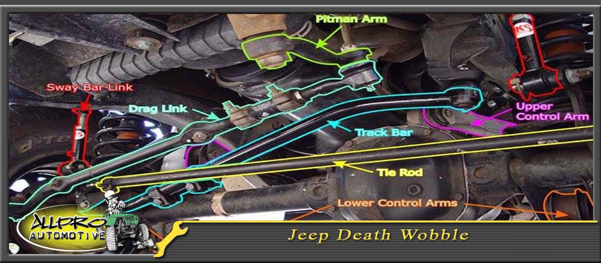 Death Wobble Jeep >> Jeep Death Wobble Allpro Automotive Off Road
